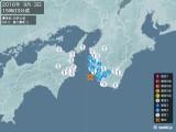 2016年09月03日15時03分頃発生した地震