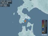 2016年09月25日13時03分頃発生した地震