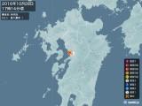2016年10月28日17時14分頃発生した地震