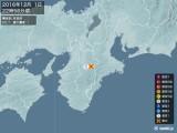 2016年12月01日22時56分頃発生した地震