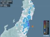2016年12月20日01時41分頃発生した地震