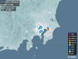 2016年12月24日20時47分頃発生した地震
