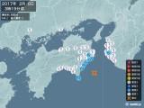 2017年02月08日03時19分頃発生した地震