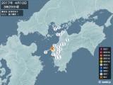 2017年04月10日03時29分頃発生した地震