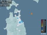 2017年04月16日04時24分頃発生した地震