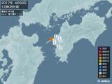 2017年04月30日12時08分頃発生した地震