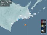 2017年06月10日16時31分頃発生した地震