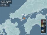 2017年06月21日05時05分頃発生した地震