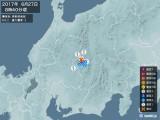 2017年06月27日08時40分頃発生した地震