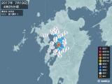2017年07月19日04時25分頃発生した地震