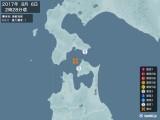 2017年08月06日02時28分頃発生した地震