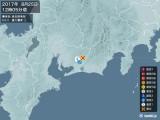 2017年08月25日12時05分頃発生した地震