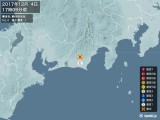 2017年12月04日17時09分頃発生した地震