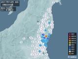 2017年12月06日00時22分頃発生した地震