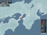 2017年12月16日05時57分頃発生した地震