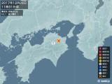 2017年12月26日11時31分頃発生した地震