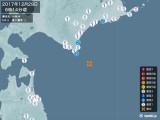 2017年12月29日06時14分頃発生した地震