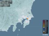 2018年01月04日15時20分頃発生した地震