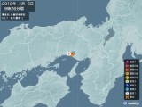 2018年01月06日09時26分頃発生した地震