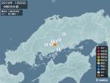 2018年01月25日09時09分頃発生した地震
