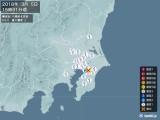 2018年03月05日15時31分頃発生した地震