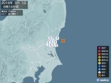 2018年05月01日06時14分頃発生した地震