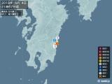 2018年05月04日21時57分頃発生した地震