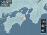 2018年06月11日03時53分頃発生した地震