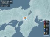 2018年06月19日00時35分頃発生した地震