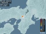 2018年06月21日04時26分頃発生した地震