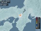 2018年06月22日04時19分頃発生した地震