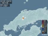 2018年06月27日01時07分頃発生した地震