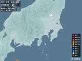 2018年07月02日22時39分頃発生した地震