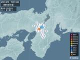 2018年07月15日01時59分頃発生した地震