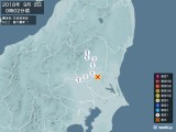 2018年09月02日00時02分頃発生した地震