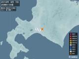 2018年09月07日20時51分頃発生した地震