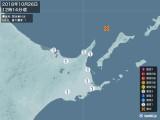 2018年10月26日12時14分頃発生した地震