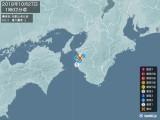 2018年10月27日01時02分頃発生した地震