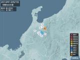 2018年12月27日09時54分頃発生した地震