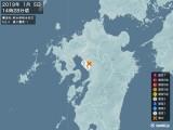 2019年01月05日14時28分頃発生した地震
