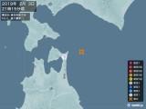 2019年02月03日21時15分頃発生した地震