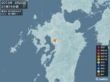 2019年02月25日21時15分頃発生した地震