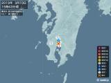 2019年03月10日15時43分頃発生した地震