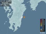 2019年03月25日09時38分頃発生した地震