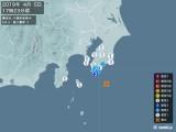2019年04月05日17時23分頃発生した地震