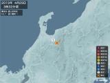 2019年04月29日03時32分頃発生した地震
