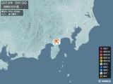 2019年05月19日08時53分頃発生した地震
