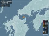 2019年05月30日15時20分頃発生した地震