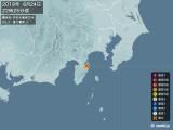 2019年06月24日22時25分頃発生した地震