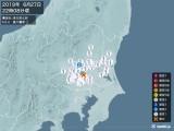 2019年06月27日22時08分頃発生した地震